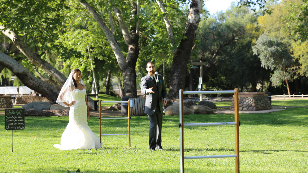 Ladder Golf for Hawaii Weddings